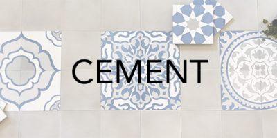 Trio Ceramica's Cement Range