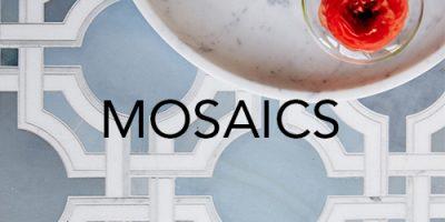 Trio Ceramica Mosaics Product Range