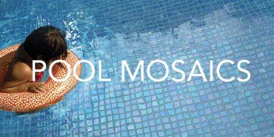 Trio Ceramica Pool Mosaics Product Range
