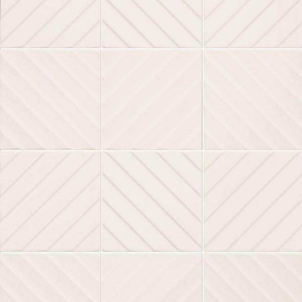 4D Diagonal White Pattern