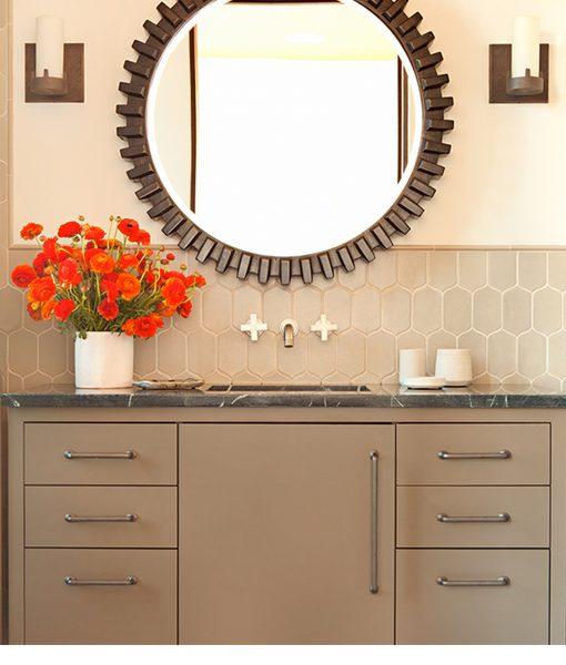 6th Avenue Cocoon (Flax Matte) Bathroom Splashback