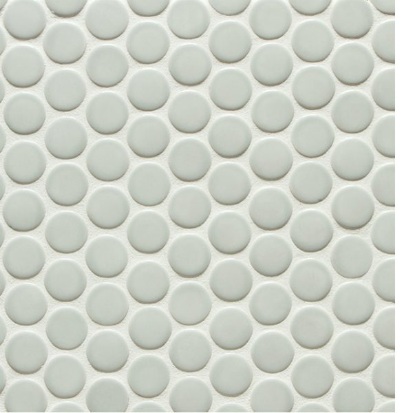 6th Avenue Round Mosaic (French Clay Gloss)
