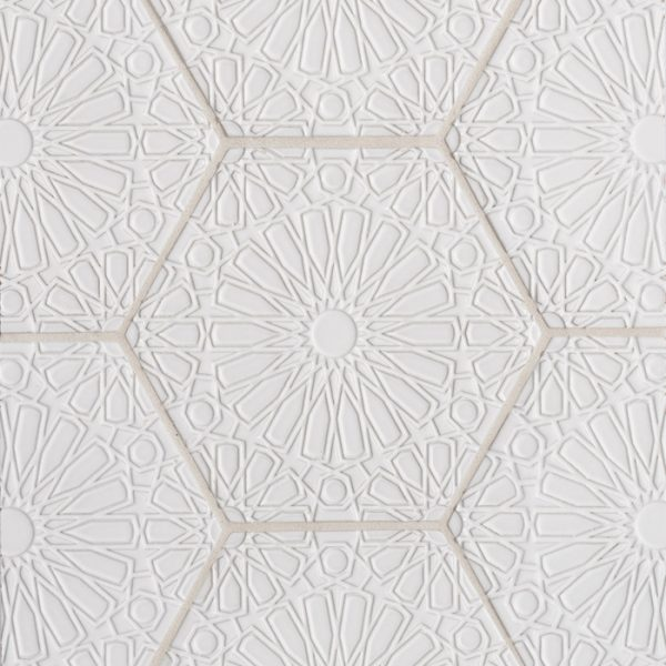 Andalucia Fez (Blanco Matte) Pattern