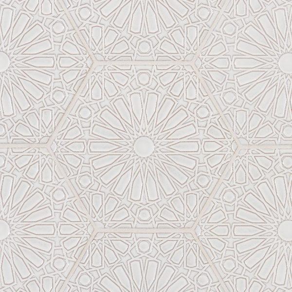 Andalucia Fez (Blanco Gloss) Pattern