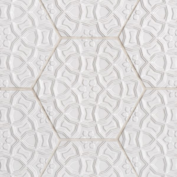 Andalucia Marrakesh (Blanco Matte) Pattern