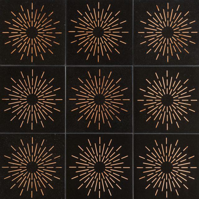 Ellington Pierre Ebony Pattern