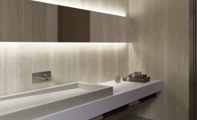 Inalco Geo Crema in Bush Hammered Finish (1)