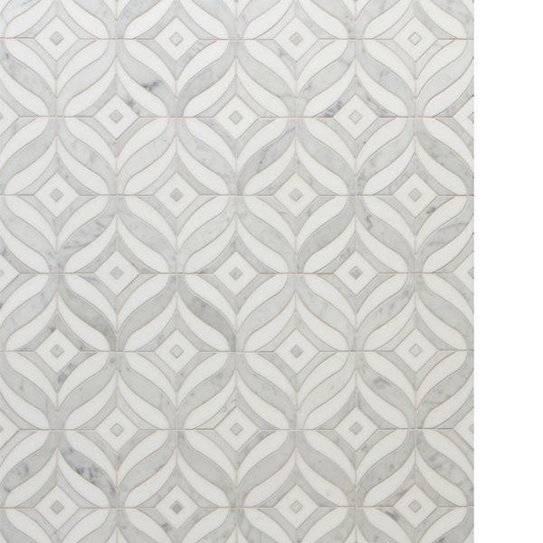 Mai Tai Carrara White Pattern