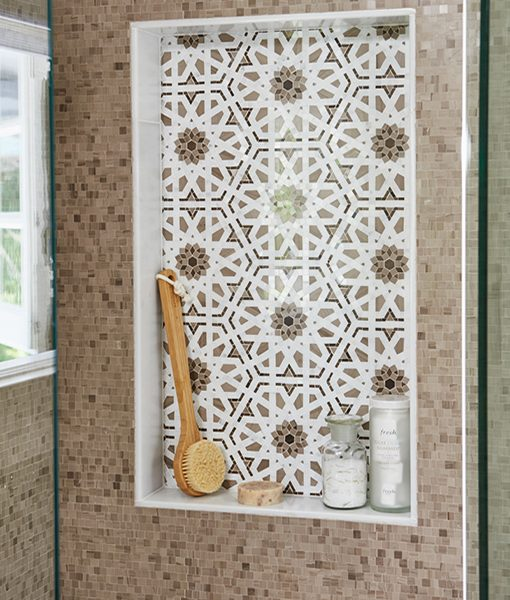 Mosaic Café & Granada Café Bathroom Mural