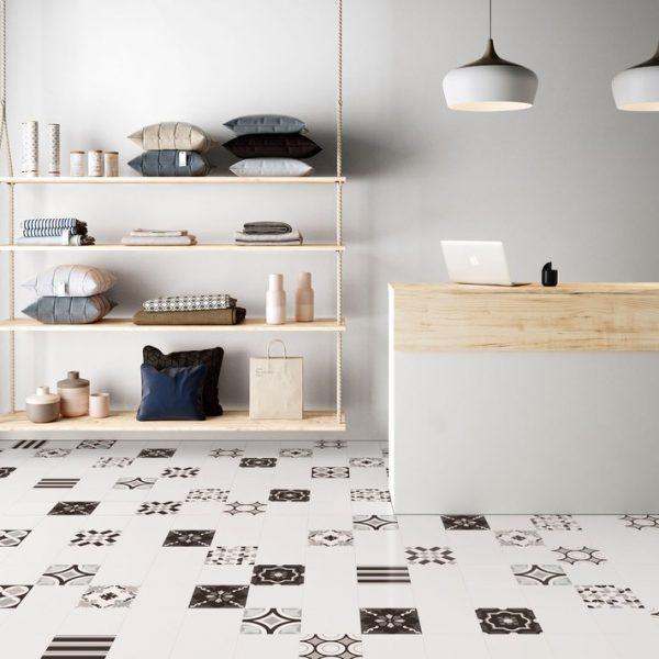 Regal Field (White) Floor