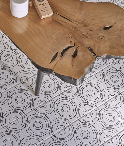 Ripple Pattern in Black & White