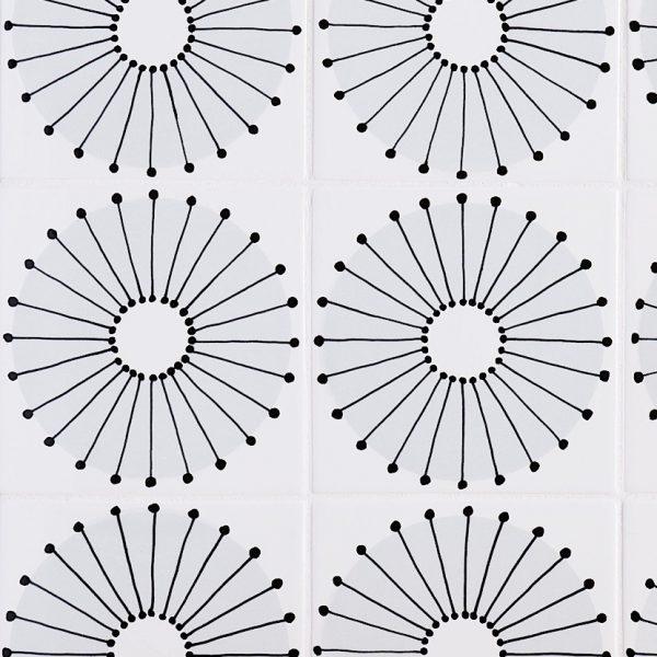 Sketchbook Dandelion in Grey