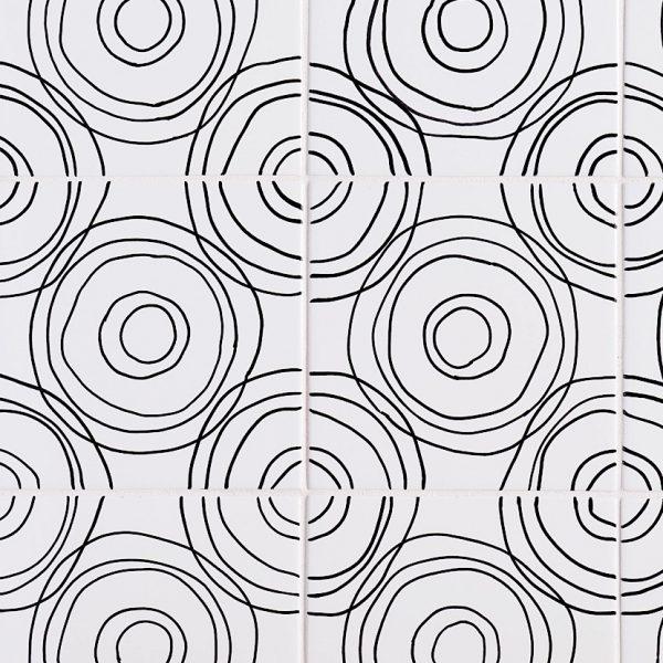 Sketchbook Ripple in Black & White