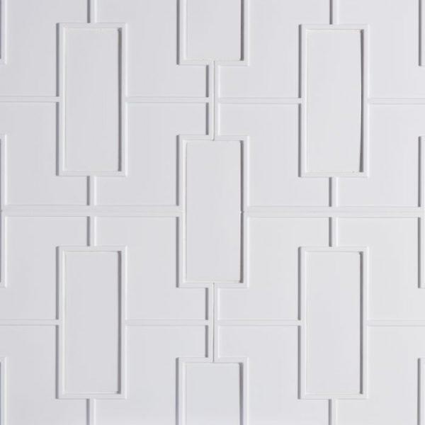 Studio Moderne Fretwork (Plaster GlossCrackle)