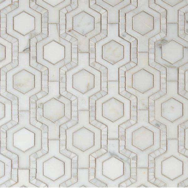 Tangent Honeycomb (Calacatta)