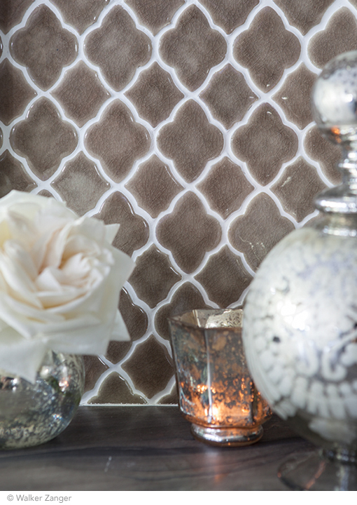 Vibe Moroccan Mosaic in Suede